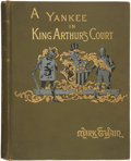Books:First Editions, Mark Twain. A Connecticut Yankee in King Arthur's Court. NewYork: Charles L. Webster & Company, 1889. . First...