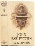 Books:First Editions, Jack London. John Barleycorn. New York: Century Co., 1913. .First edition. Octavo. 343 pages.. Publisher's dark...