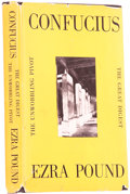 Books:Signed Editions, Ezra Pound. Confucius: The Great Digest & UnwobblingPivot. [New York]: New directions, [1951].. First edition...