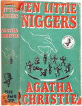 Books:First Editions, Agatha Christie. Ten Little Niggers. London: Crime Club,[1939].. First edition. Index card signed by Christie...