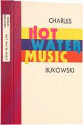 Books:Signed Editions, Charles Bukowski. Hot Water Music. Santa Barbara: BlackSparrow Press, 1983.. First edition. Limited to 100 co...