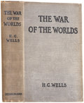 Books:First Editions, H. G. Wells. The War of the Worlds. London: WilliamHeinemann, 1898. . First edition, first state. Octavo. viii, 3...
