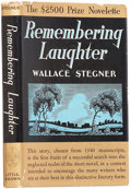 Books:Signed Editions, Wallace Stegner. Remembering Laughter. Boston: Little,Brown, 1937.. First edition. Signed by Stegner on t...