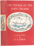 Books:Signed Editions, C. S. Lewis. The Voyage of the Dawn Treader. London:Geoffrey Bles, 1952.. First edition. Signed by C. S. Lewis ...