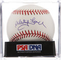 Autographs:Baseballs, Whitey Ford Single Signed Baseball PSA Gem Mint 10. ...