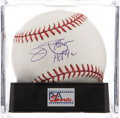 Autographs:Baseballs, Jim Palmer Single Signed Baseball PSA Gem Mint 10. ...