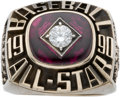 Baseball Collectibles:Others, 1990 Lenny Dykstra All-Star Game Ring....