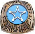 Baseball Collectibles:Others, 1995 Lenny Dykstra All-Star Game Ring....