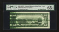 Error Notes:Ink Smears, Fr. 2076-B $20 1988A Federal Reserve Note. PMG Gem Uncirculated 65EPQ.. ...