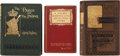 Books:Fiction, Mark Twain. Three Books, including: A Double Barrelled DetectiveStory. New York: Harper & Brothers, 1902. First edi...(Total: 3 Items)