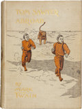 Books:Fiction, Mark Twain. Tom Sawyer Abroad. New York: Charles L. Webster,1894. First edition....