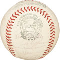 Autographs:Baseballs, 1963 Baltimore Orioles Team Signed Baseball. ...