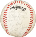 Autographs:Baseballs, 1983 Philadelphia Phillies Team Signed Baseball. ...