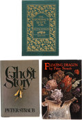 Books:First Editions, Peter Straub. Three First Editions, including: Ghost Story.[and:] Floating Dragon. Limited to 500 sig... (Total: 3Items)