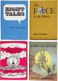 Books:First Editions, Four Arkham House First Edition Books, including: Walter de laMare. Eight Tales. Sauk City: 1971. [and:] Dona... (Total: 4Items)