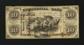 Obsoletes By State:Indiana, Terre Haute, IN- Commercial Exchange Bank $10 Aug. 3, 1858. ...