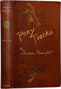 Books:Signed Editions, Frederic Remington. Pony Tracks - Inscribed and annotated byRemington, and with several excellent original drawin...