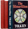 Books:Fiction, J. R. R. Tolkien. Three titles, including: The Silmarillion. Book club edition, in dust jacket. Very good. [... (Total: 3 Items)