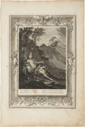 Antiques:Posters & Prints, Bernard Picart. One Engraving: Clytia Chang'd into a Turnesole. Good condition....