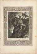 Antiques:Posters & Prints, Bernard Picart. One Engraving: Sisyphus's Stone. Good condition....