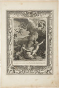 Antiques:Posters & Prints, Bernard Picart. One Engraving: Arethusa Pursued by Alpheus, andTurned to a Fountain. Good condition....