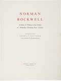 Books:Signed Editions, Norman Rockwell. A Suite of Fifteen Color Prints of SaturdayEvening Post Covers - A superb collection of large si...