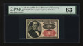 Fractional Currency:Fifth Issue, Fr. 1309 25¢ Fifth Issue PMG Choice Uncirculated 63....
