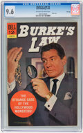 Silver Age (1956-1969):Mystery, Burke's Law #3 File Copy (Dell, 1965) CGC NM+ 9.6 Off-white towhite pages....