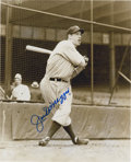 Autographs:Photos, Joe DiMaggio Signed Photograph....