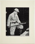 Autographs:Others, 1934 Al Simmons Signed Baseball Magazine Cover. ...