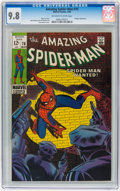 Silver Age (1956-1969):Superhero, The Amazing Spider-Man #70 (Marvel, 1969) CGC NM/MT 9.8 Off-white to white pages....