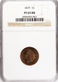 Proof Indian Cents: , 1879 1C PR65 Red and Brown NGC. NGC Census: (68/30). PCGS Population (74/31). Mintage: 3,200. Numismedia Wsl. Price for NGC...