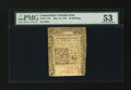Colonial Notes:Connecticut, Connecticut May 10, 1775 20s PMG About Uncirculated 53....