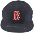 Autographs:Others, Ted Williams Boston Red Sox Signed Hat. ...