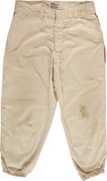 Baseball Collectibles:Uniforms, 1959 San Francisco Giants Game Worn Uniform Pants. ...