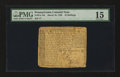 Colonial Notes:Pennsylvania, Pennsylvania March 10, 1769 10s PMG Choice Fine 15....