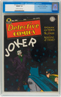Golden Age (1938-1955):Superhero, Detective Comics #114 Mile High pedigree (DC, 1946) CGC NM/MT 9.8 Off-white to white pages....