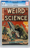 Golden Age (1938-1955):Science Fiction, Weird Science #15 Gaines File Copy (EC, 1952) CGC NM- 9.2 Off-whiteto white pages....