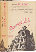 Books:First Editions, Ira Levin. Rosemary's Baby. New York: Random House, [1967].First edition. Octavo. 245 pages. Leaning spine with...