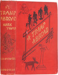 Books:First Editions, Mark Twain. A Tramp Abroad. London: Chatto & Windus,1880. First British edition. Publisher's red cloth. General...