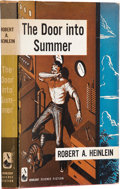 Books:First Editions, Robert A. Heinlein. The Door Into Summer. Garden City, NewYork: Doubleday & Company, Inc., 1957. First edition. Lig...