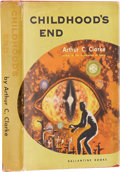 Books:First Editions, Arthur C. Clarke. Childhood's End. New York: BallantineBooks, 1953.. First edition. Octavo. 214 pages....