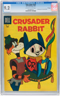 Silver Age (1956-1969):Humor, Four Color #735 Crusader Rabbit - File Copy (Dell, 1956) CGC NM- 9.2 Off-white to white pages....