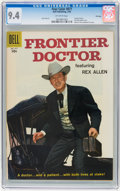 Silver Age (1956-1969):Western, Four Color #877 Frontier Doctor - File Copy (Dell, 1958) CGC NM 9.4Off-white pages....