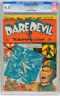 Golden Age (1938-1955):Superhero, Daredevil Comics #10 Mile High pedigree (Lev Gleason, 1942) CGC NM 9.4 White pages. ...