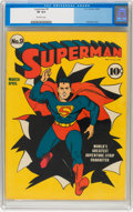 Golden Age (1938-1955):Superhero, Superman #9 (DC, 1941) CGC VF 8.0 Off-white pages....