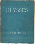 Books:First Editions, James Joyce. Ulysses. Paris: Shakespeare and Company, 1922.. First edition, number 255 of 750 numbered copies pri...