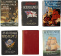 Books:First Editions, C. S. Forester. Six Hornblower Books. All are first editions infair or better condition.... (Total: 6 Items)