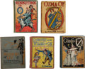 Books:Children's Books, L. Frank Baum. Five Later Issue Oz Books, including: The NewWizard of Oz. Chicago: M. A. Donohue, [ca. 1913]. Third...(Total: 5 Items)