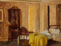 Mainstream Illustration, DEAN CORNWELL (American, 1892-1960). Bedroom. Gouache onboard. 11 x 14 in.. Not signed. ...